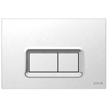 Vitra Кнопка смыва 740-0680 хром