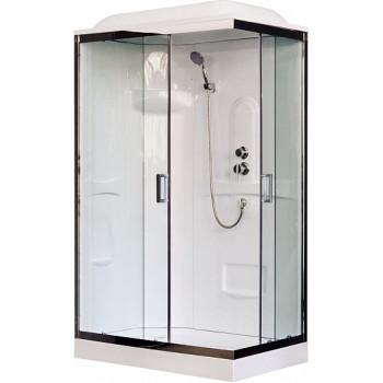 Royal Bath Душевая кабина RB 8120HP1-T-CH L (прозрачное стекло)