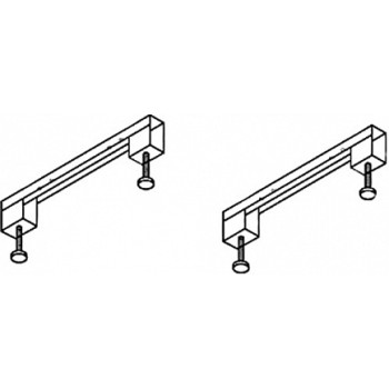 Cezares Универсальный комплект ног для прямоугольных акриловых ванн Leg Kit 150