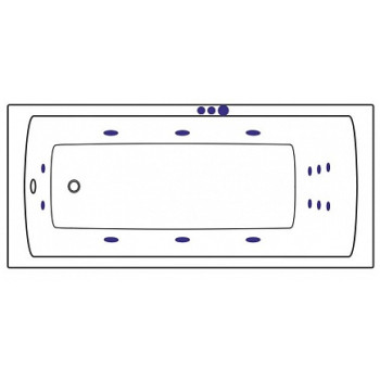 Sanjet Массажная система SMART SJ-SMART-CR хром