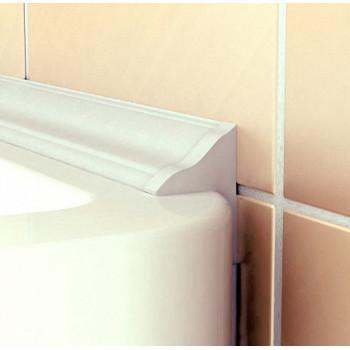 Excellent Бордюр для ванны PROF-PVC