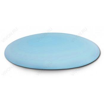 Aessel Подголовник для ванны Aessel КАПЛЯ голубой