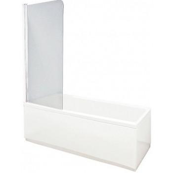 Aquanet Шторка на ванну AQ1-L узорчатое стекло
