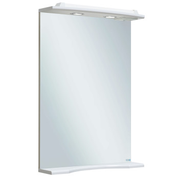 Runo Зеркало для ванной Ксения 50