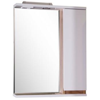 ASB-Mebel Зеркало Марко 60 белый/дуб золотой
