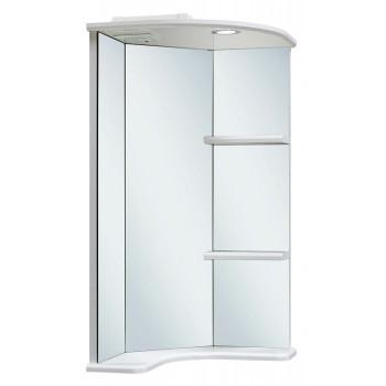 Runo Зеркало для ванной Браво 40 угловое