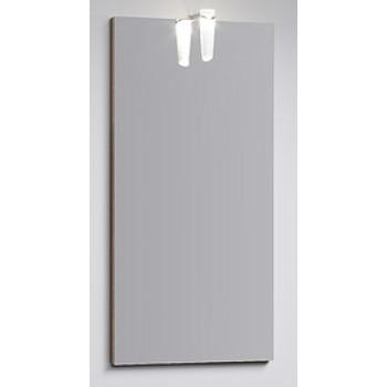 Aqwella Зеркало для ванной Леон-МР 40 дуб сонома