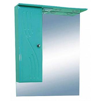 Misty Зеркальный шкаф Мисти 50 L салатовый