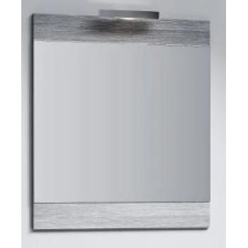 Aqwella Зеркало для ванной Бриг 70 дуб седой