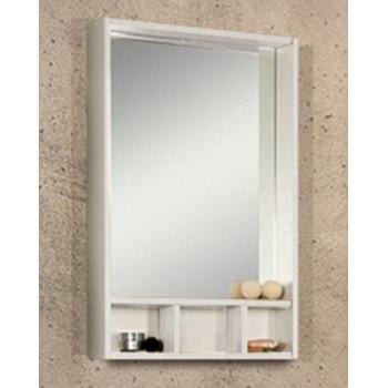 """Акватон Зеркало """"Йорк 60"""" белый/выбеленное дерево"""