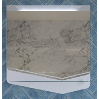 Velvex Зеркало Crystal Cub 70 белое