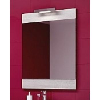 Aqwella Зеркало для ванной Бриг 60 дуб седой
