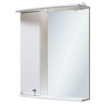 Runo Зеркальный шкаф Ирис 55 L