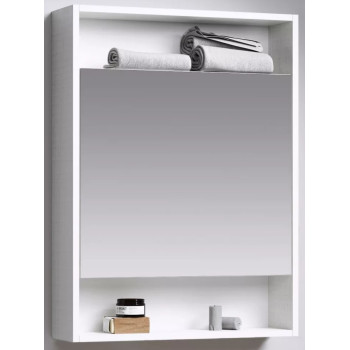 Aqwella Зеркало-шкаф для ванной Сити 60 дуб канадский
