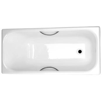 Универсал Ванна чугунная Ностальжи У 150x70 с отверстиями под ручки