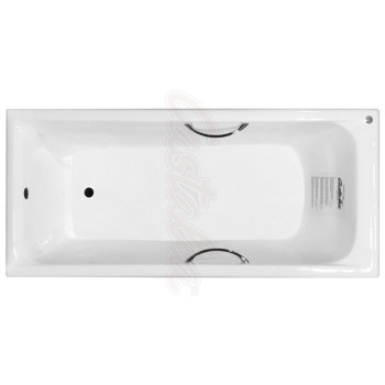 Castalia Чугунная ванна Prime S2021 180х80 с ручками
