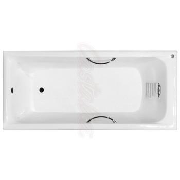 Castalia Чугунная ванна Prime S2021 170х75 с ручками